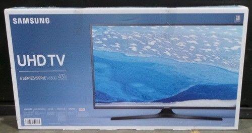 """Samsung UN43KU6300 43"""" 2160p 120Hz 4K Ultra HD Smart LED TV"""