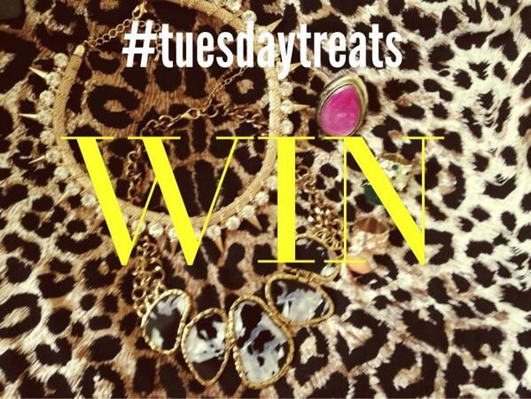 It's TUESDAY treat time..... Follow along on Instagram today @laloves_ and you could WIN!