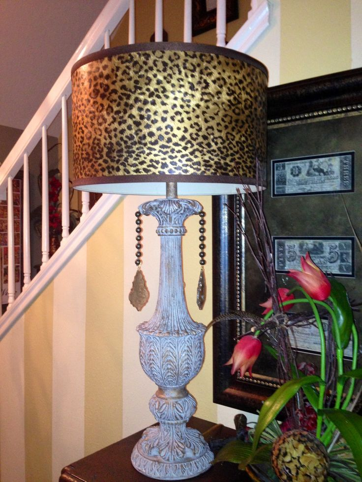 Leopard Lamp From Calamity Janes Trading Co In Boerne Tx