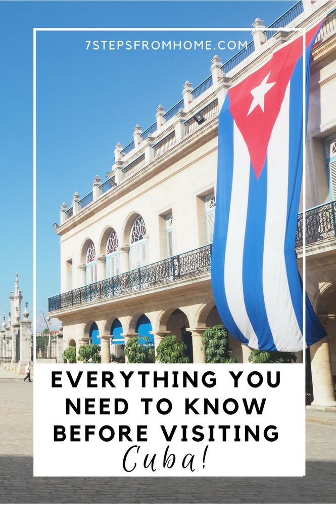 What you need to know before visiting Cuba, to make sure your trip to this fascinating country is simply amazing!