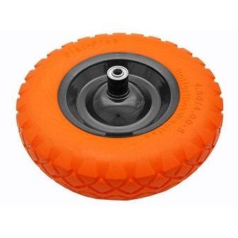 16 Run Flat Wheelbarrow Tire, Silver steel #CART-012F