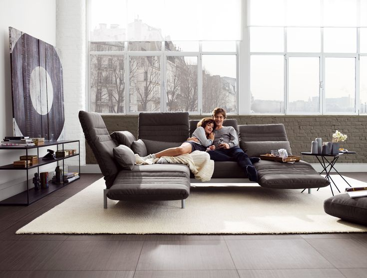 Studio Anise // Rolf Benz Plura Sofa #modern #furniture #couch #sectional