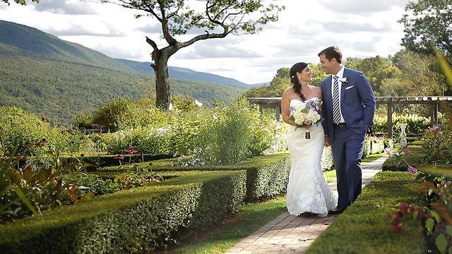 Jennifer & Peter - September 15, 2012 - Wedding video at The Hildene in Manchester Center, Vermont