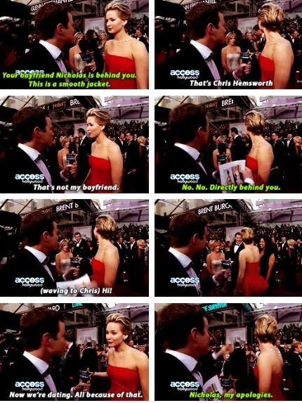 Seriously how can you not love Jen!? She is hilarious and adorable!!!