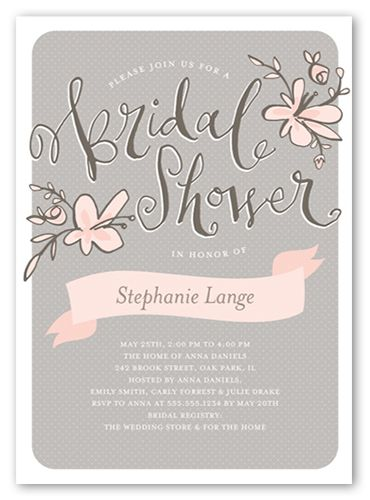 Sweet Blossoms 5x7 Invitation | Bridal Shower Invitations | Shutterfly