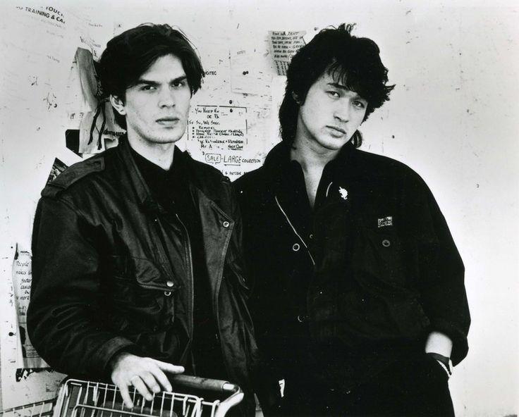 Yuri Kasparyan and Viktor Tsoi, 1980s.