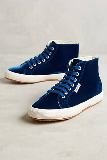 Superga Velvet High-Tops