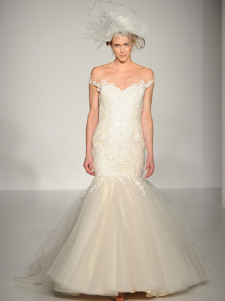 Sottero and Midgley off the shoulder wedding dress from Fall 2015: