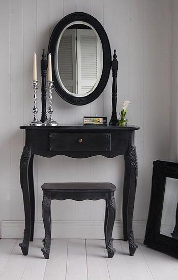 Black Dressing Table Cool Stuff Pinterest