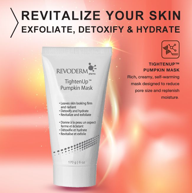 Get younger looking skin with this firming and exfoliating face mask.