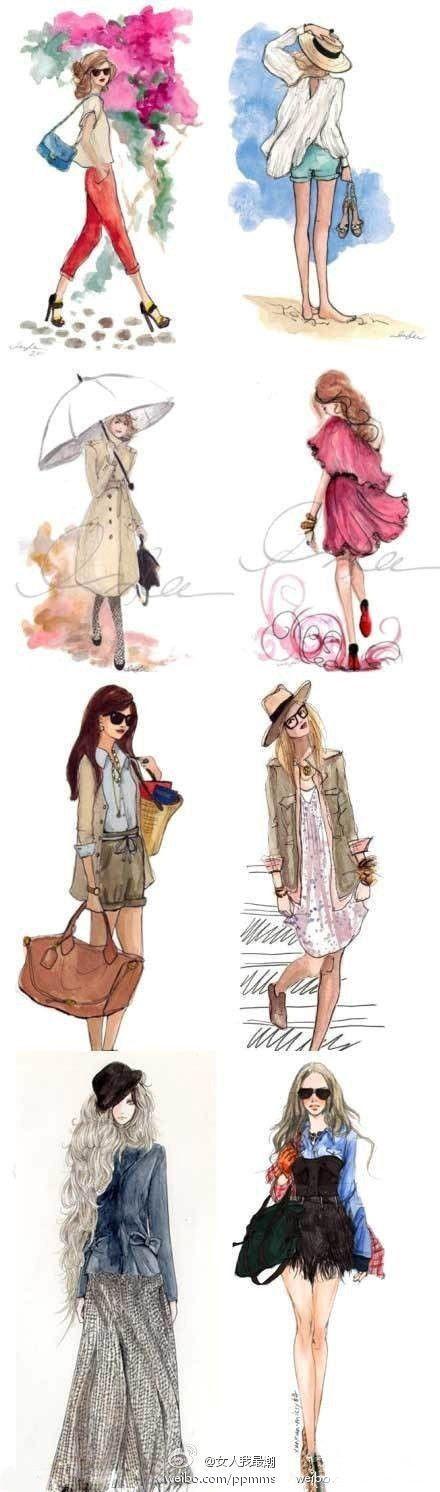 Street beat illustrator design #fashion #illustration #evatornadoblog… #fashiondesigndrawings,