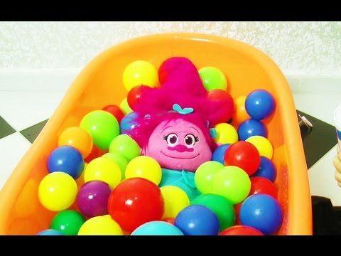 Kötü Bebek ve Trolls poppy Kamera Arkası - Bad Baby
