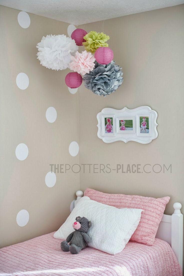 Little Girl's Room - Polka Dot Love
