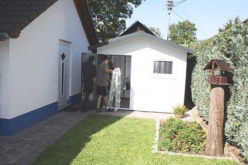 Siebau Satteldach | SIEBAU Metallgerätehaus | Metallgerätehaus | Gartenhäuser & Container |