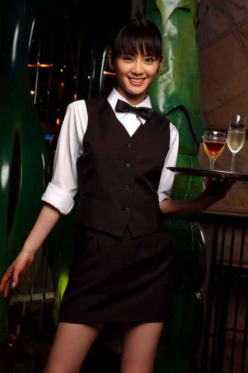 78 Best Waiter Images On Pinterest Restaurant Uniforms