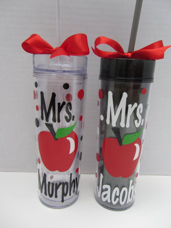 Best  Vinyl IdeasTeacher Gift Images On Pinterest DIY And - Vinyl cup designs
