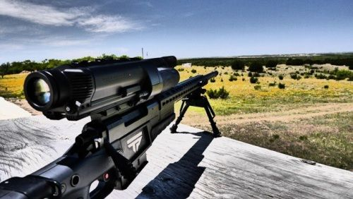 Here is a high tech rifle for those who want to shoot well but don't want to practice. A bit pricy though at $22,000.00 per gun. Check it out here: http://www.electronicproducts.com/Sensors_and_Transducers/Image_Sensors_and_Optical_Detectors/Smart_rifle_decides_when_to_shoot_hardly_ever_misses_target.aspx