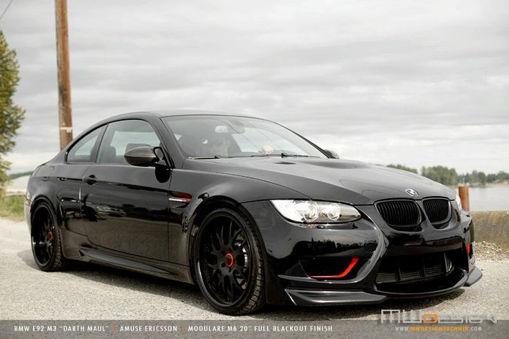 BMW M3...love the wheels and red accents.