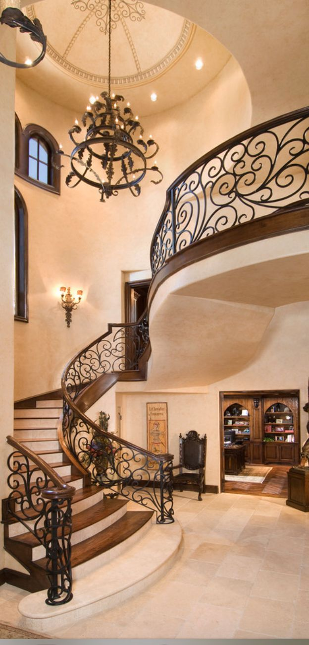stairway | Old World, Mediterranean, Italian, Spanish ...
