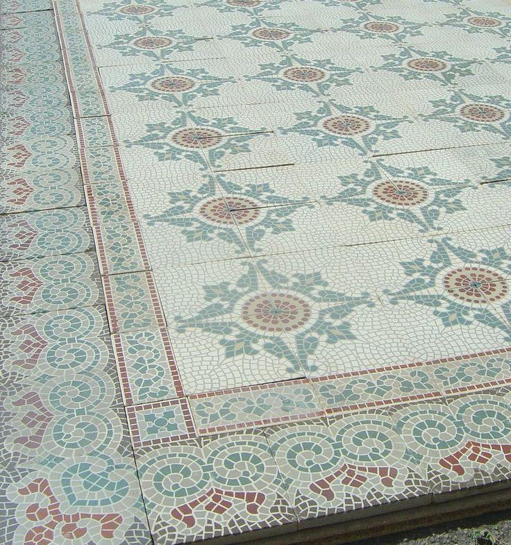 Oude tegels. Collectie www.floorz.nl