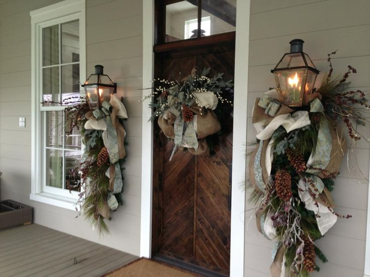Getting the Southern Living Idea House, built by Castle Homes, dressed for the holidays! Gorgeous decor by ReCreations Furniture!