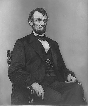Abraham Lincoln, Sixteenth President of the United States Born 1809 - Died 1865 - Served 1861- 1865 Assassinated