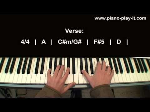 Adele Someone Like You Piano Tutorial