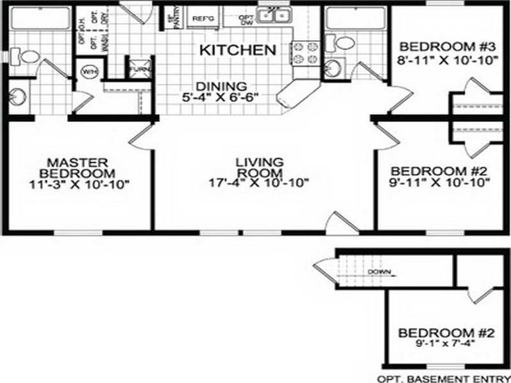 Old fleetwood mobile home floor plans for 16 x 70 mobile home floor plans