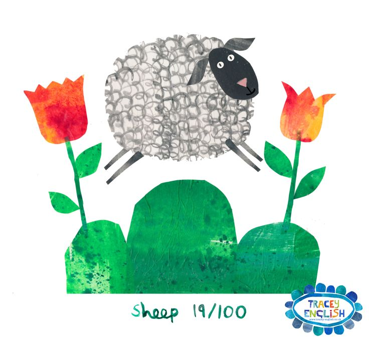 Sheep by Tracey English www.tracey-english.co.uk