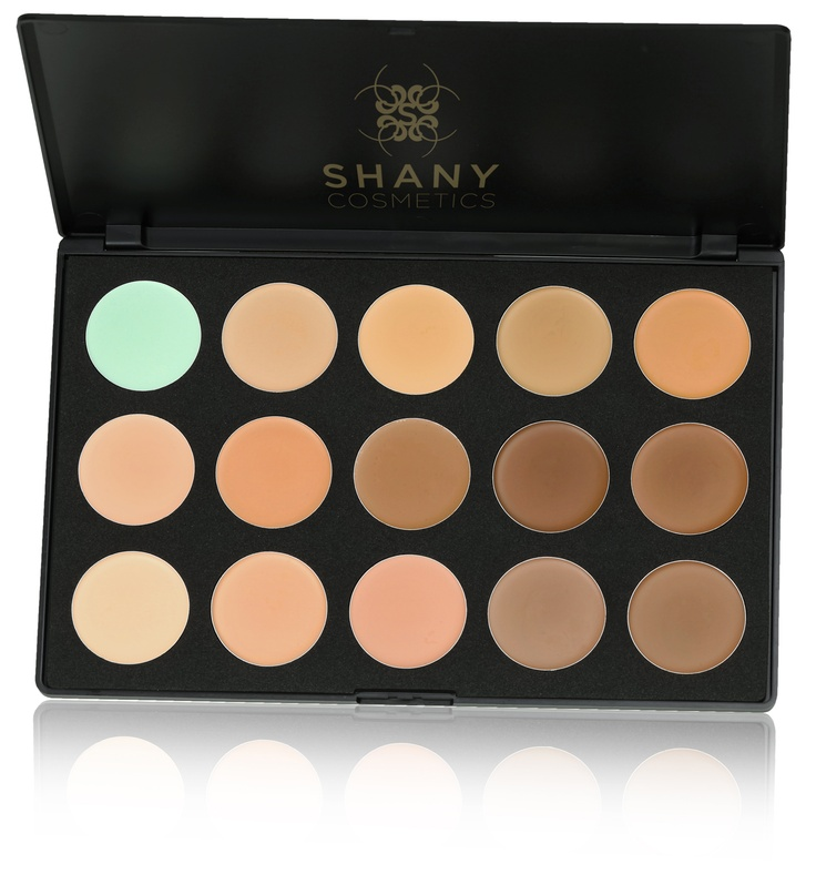 Shany Cosmetics  Conceal and Camouflage Cream Foundation Palette
