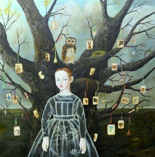 darksilenceinsuburbia:  Anne Siems. Guidance Tree, 2012.