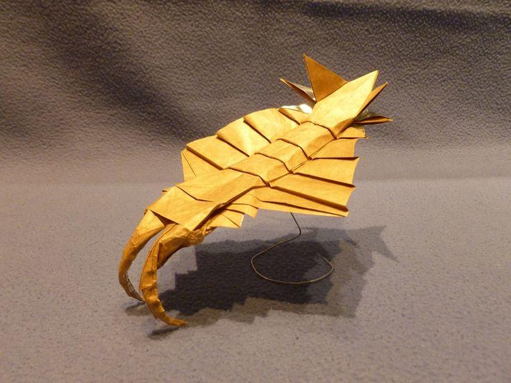 Origami Anomalocaris