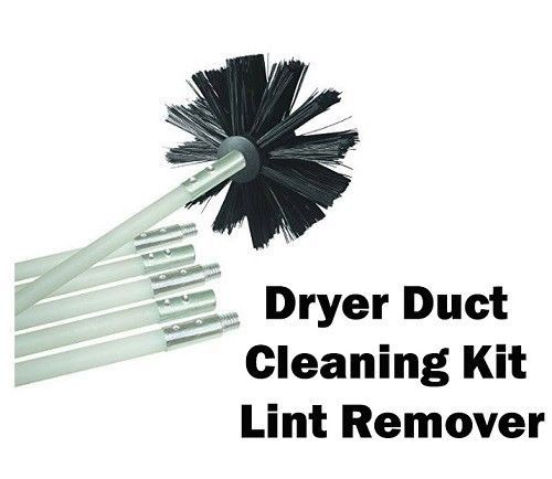 Chimney Cleaning Tools Kit Lint Remover Brush Duct Cleaining Extends To 12 Feet #ChimneyCleaningTools