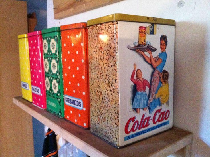 latas cola cao vintage - Buscar con Google