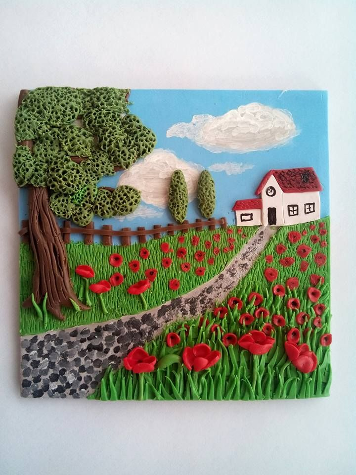 FIMO 50 World project tile from Manon van Kempen, Spain