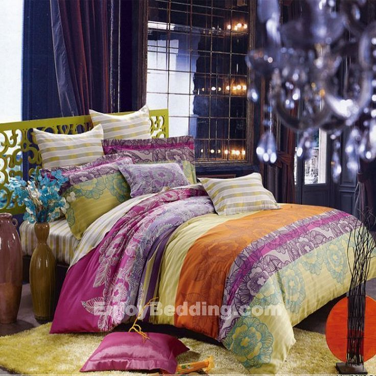 Bohemian Bedding Collections | Stripe and Bohemian Bedding Sets - EnjoyBedding.com