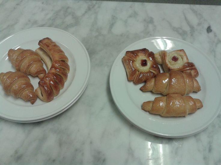 Masa danesa y croissant