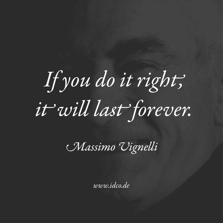 R.I.P. Massimo Vignelli