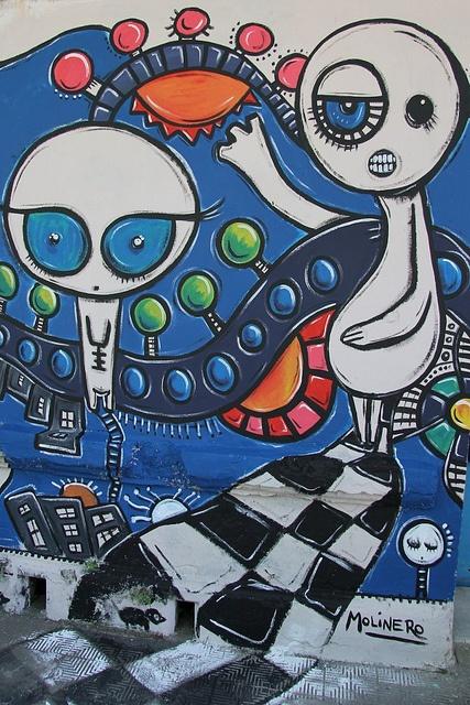 mural Borda, CABA