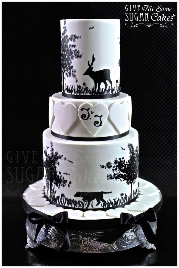 17 Best ideas about Camo Wedding Cakes on Pinterest Camo wedding