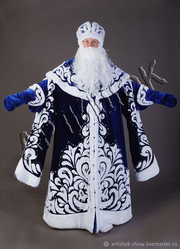 Kostyum Deda Moroza Boyarskij Zakazat Na Yarmarke Masterov Drlynru Kostyumy Omsk Christmas Dress Christmas Costumes Santa Suits