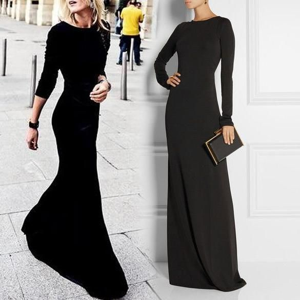 I found some amazing stuff, open it to learn more! Don't wait:http://m.dhgate.com/product/less-is-more-simple-black-evening-dress-with/210177568.html