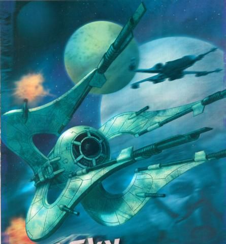 Star Wars - Chiss Clawcraft by Mark Sasso