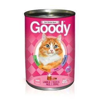 Goody Kuzulu ve Pirinçli Yetişkin Kedi Konserve Yaş Maması