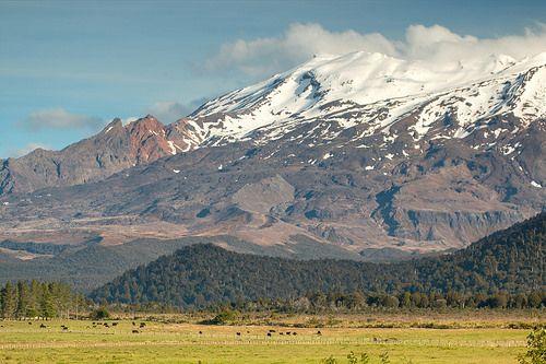 Mt Ruapehu Mt ruapehu New Zealand