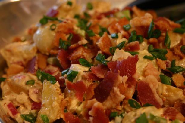 Potato Salad With Mustard Dressing And Bacon Recipe - Australian.Food.com - 110263