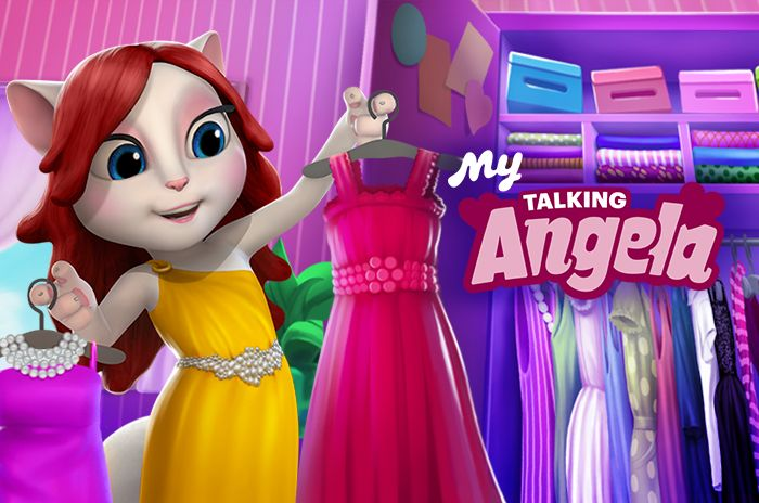 i'm thinking about new outfits for my talking angela app