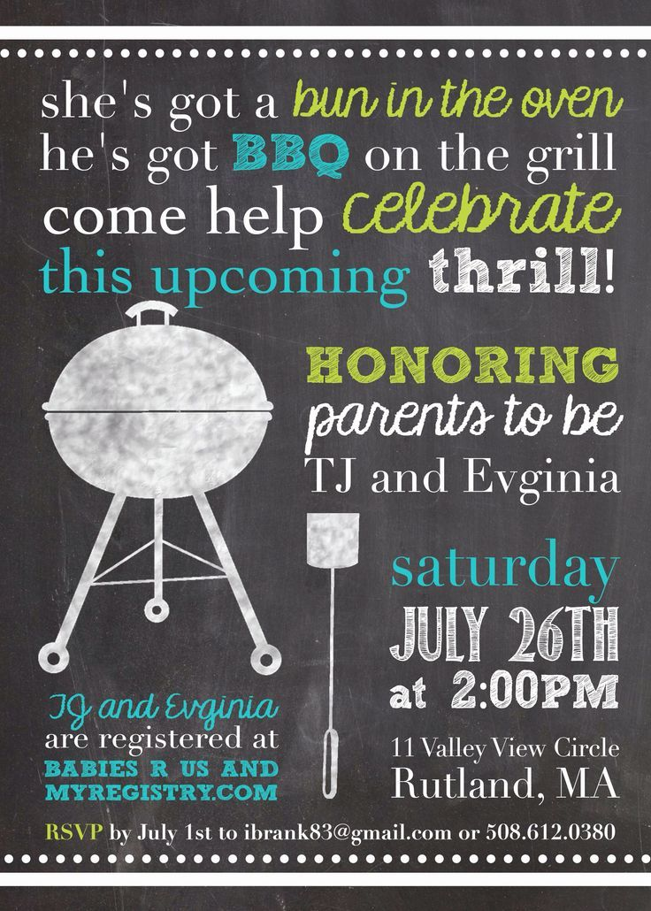 Baby Shower Invitation From Etsy, Fun For Jack And Jill.