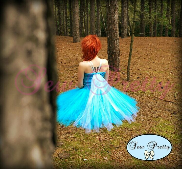 Beautiful adult tutu dress ♡  Teen to adult size 8.  See www.facebook.com/sewprettylisajean for more details.  Alice Blue Gowns by Sew Pretty.