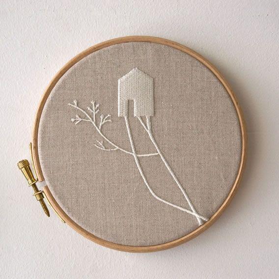 wallart/ embroidery by anaventura, Lisboa #embroidery